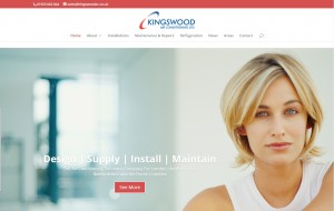 Kingswood Air Conditioning - New Website